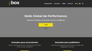 yBox - Seu canal de performance online