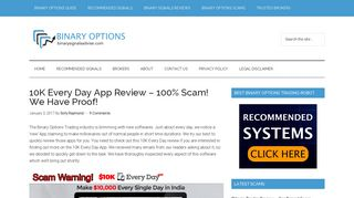 10K Every Day App Review - 100% Scam! We Have Proof!