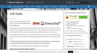 • 10K Daily Review - We Show You The Ugly Truth of 10k Every Day ...