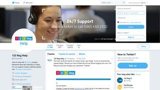 123 Reg Help (@123regHelp)   Twitter