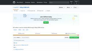 GitHub - sacOO7/160by2-SMS-API: API written in java for sending ...