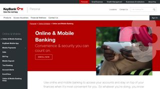 Online and Mobile Banking | KeyBank