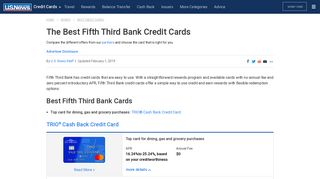 Best Fifth Third Bank Credit Cards of 2018   US News
