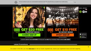 888.com: Online Casino & Online Poker Room
