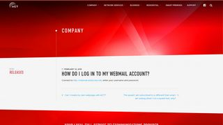 How do I log in to my Webmail account? - Advanced Communications ...