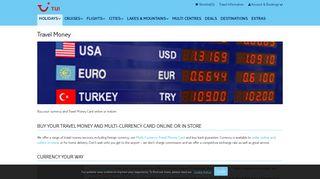 Travel Money   TUI