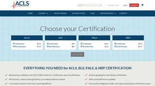 Register | ACLS Certification Institute