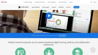 Adobe web conferencing software | Adobe Connect