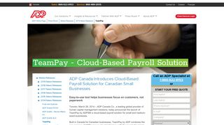 TeamPay - ADP Canada