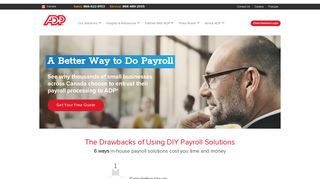 Teampay – Online Payroll Software Solution | ADP Canada