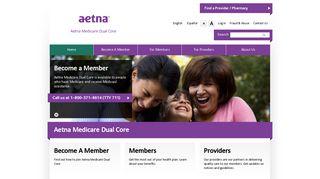 Home | Aetna Medicare Dual Core - Aetna Better Health