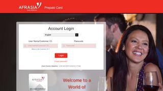 AfrAsia Bank | Prepaid Online