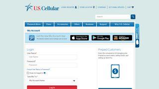 U.S. Cellular My Account Login