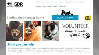 Humane Society of Durham Region - Volunteer