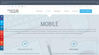 Mobile Staffing and Recruiting | AkkenCloud