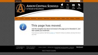 PowerSchool Parent Portal - Akron Central Schools