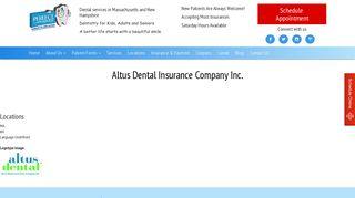 Altus Dental Insurance Company Inc. | Perfect Dental | Dentist in ...