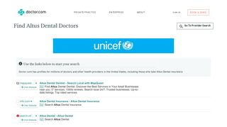 Doctors who accept Altus Dental Insurance | Doctor.com