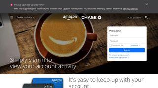 Amazon - View Account Activity - Chase.com