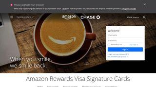 Amazon Rewards Card | Credit Cards | chase.com