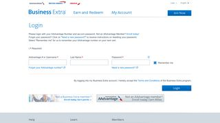 American Airlines Business Extra Login