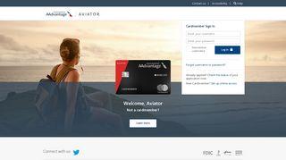 Welcome to Aviator Mastercard