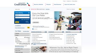 American Airlines Credit Union | We Work For You