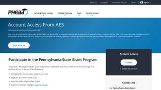 AES Account Access   PHEAA