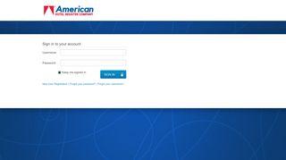 American Hotel Register - Login