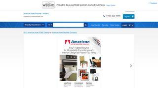 View Online Catalog - American Hotel Register