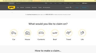 All the information you need for making a claim with AMI - AMI Insurance