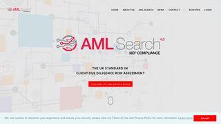 AML Search v4 - 360 degree compliance