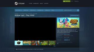 Animal Jam - Play Wild! on Steam