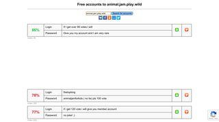 animal.jam.play.wild - free accounts, logins and passwords