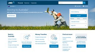 ANZ Personal Banking | Accounts, credit cards, loans, insurance | ANZ