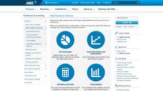 ANZ KiwiSaver Scheme information | ANZ