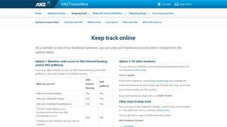 Manage KiwiSaver online | ANZ FutureWise
