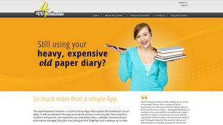 App4 Software - App4 Students the iPad Diary Solution