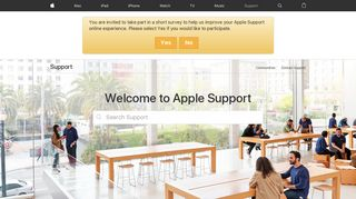 Official Apple Support