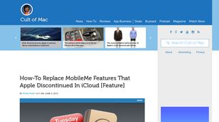 How-To Replace MobileMe Features That Apple Discontinued In ...