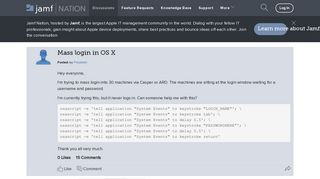 Mass login in OS X   Discussion   Jamf Nation