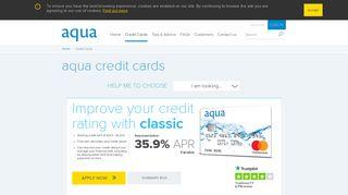 aqua Credit Cards