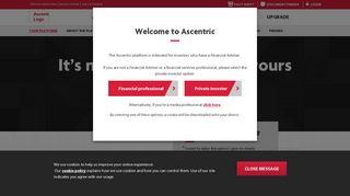 Your platform, your way | Ascentric