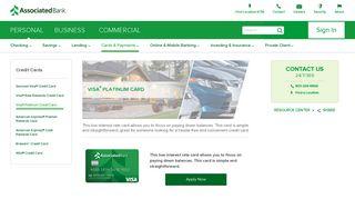 Visa® Platinum Credit Card   Associated Bank