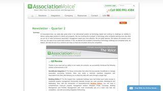 AssociationVoice-Announcements - The Heritage