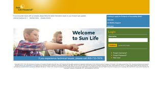 Sun Life Common Login
