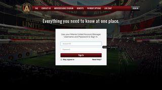 Sign In | Atlanta United FC