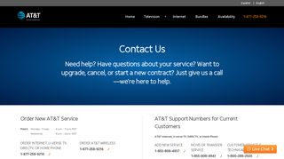 AT&T Contact Us   Customer Service & Support Phone Numbers