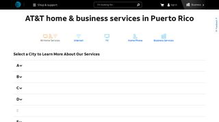 AT&T in Puerto Rico - Home & Business Services