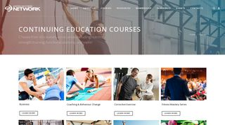 Courses - Australian Fitness Network